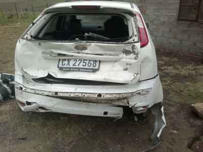 If you are involved in a car accident in South Africa