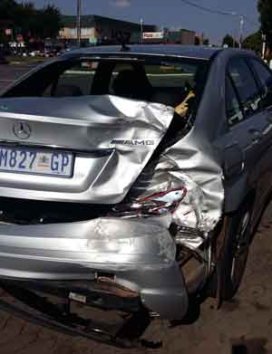 Car accident in South Africa?