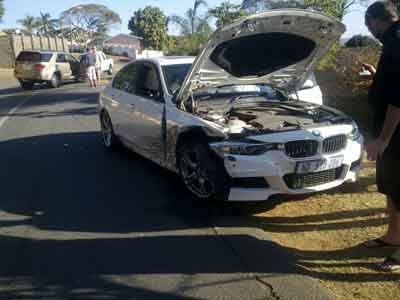 Car accident in South Africa, like to know what to do?