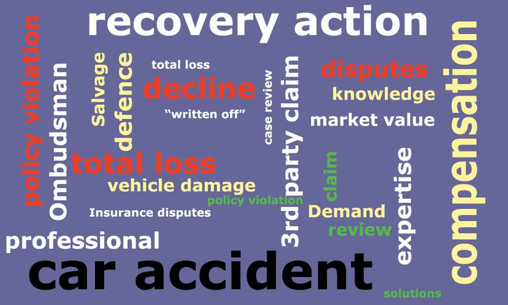 RAMLA - car accident damage claim service South Africa